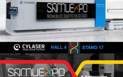 CYLASER PROCESS INNOVATION AT SAMUEXPO 2020