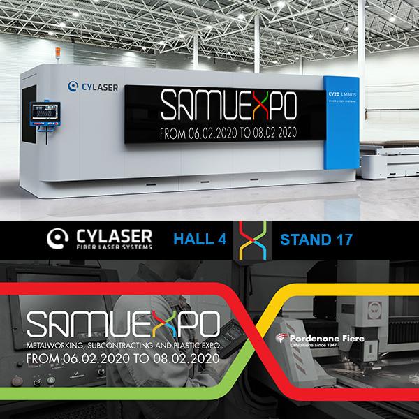 Novità di processo CYLASER a SamuExpo 2020
